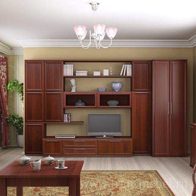 Мебель Для Гостиной Цвет Орех Москва