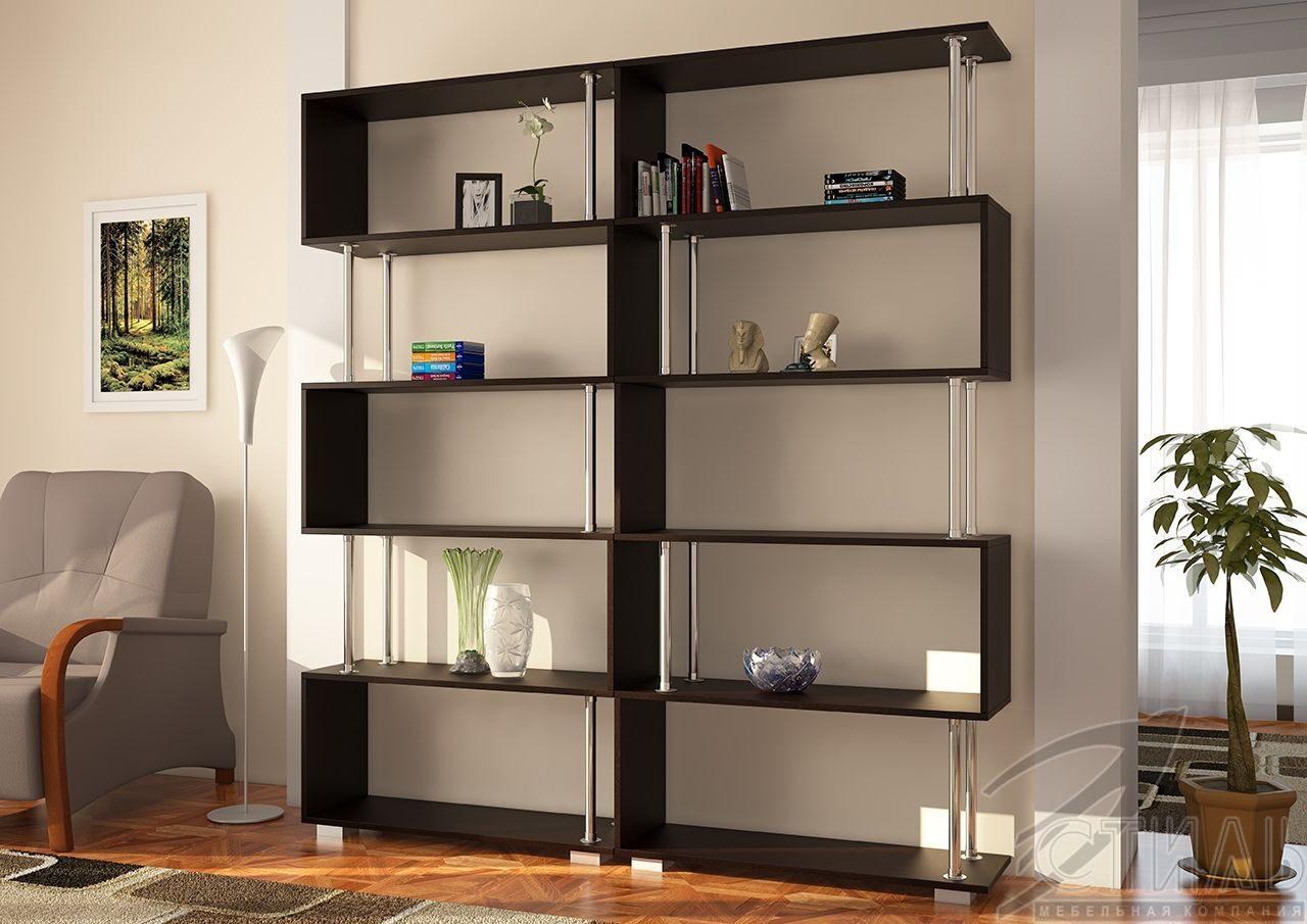 Стеллаж книжный / шкафы и стеллажи / гостиная / мебельный ки.